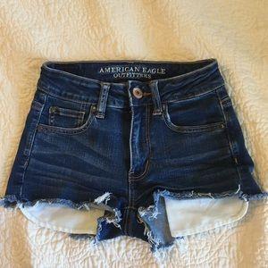 American Eagle EUC Jean shorts size 00